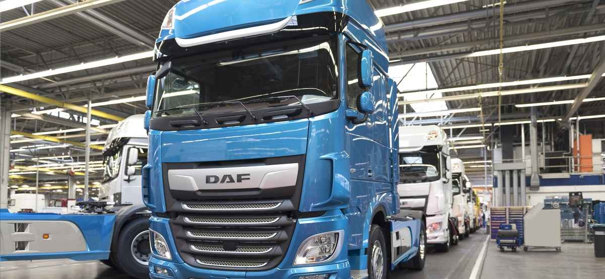 DAF Trucks sales Europe