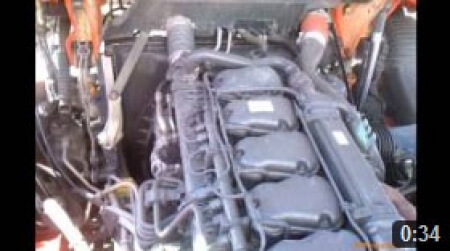 Scania R Euro 6 engine sound