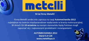 Metelli na targach AUTOMECHANIKA 2012